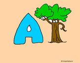 Desenho Árvore pintado por Boblindo