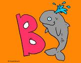 Desenho Baleia pintado por Boblindo
