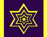 Desenho Estrela 2 pintado por missmirim