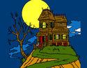 Desenho Casa encantada pintado por vickk