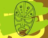 Máscara zangada