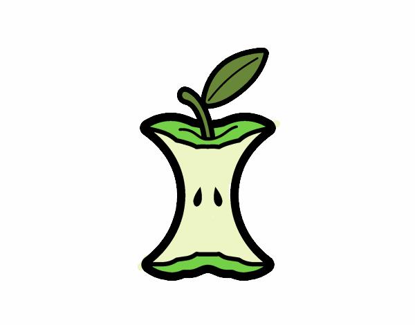 Miolo de maçã