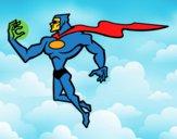 Super herói poderoso