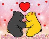 Os ursos polares amar