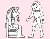 Os reis egípcios