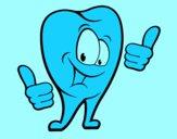 Dente são