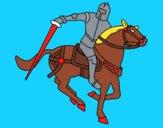 Cavaleiro a cavalo IV