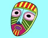 Desenho Máscara de surpresa pintado por Cello