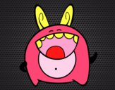 Desenho Monstro alegre pintado por Annefelipe