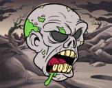 Cabeça de zombie