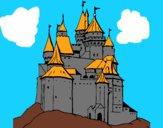 Desenho Castelo medieval pintado por S2Assilene