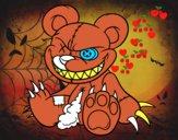 Desenho Ursito monstruoso pintado por PedroLima