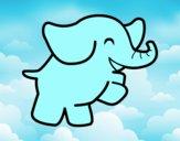 Elefante bailarino