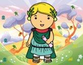 Julio César de criança