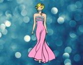 Vestido de casamento elegante