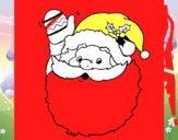 Pai Natal a saudar