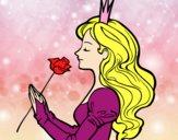 Princesa e rosa