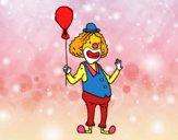 Palhaço e balão