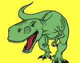 Dinossauro aborrecido