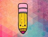 Lápis kawaii
