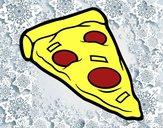 Ração de pizza