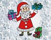 Desenho Presentes de Papai Noel pintado por ImShampoo