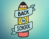 Desenho Back to School pintado por Duds