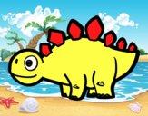 Estegossauro jovem