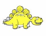 O estegossauro