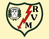 Emblema do Rayo Vallecano de Madrid