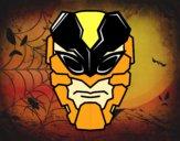 Desenho Máscara homem abelha pintado por ckirito