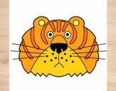 Desenho Tigre III pintado por ckirito