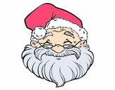 Uma face de Papai Noel