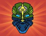 Máscara robô alien