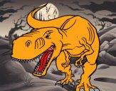 Desenho Dinossauro aborrecido pintado por ROSE123