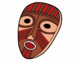 Desenho Máscara de surpresa pintado por Silma