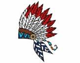 Desenho Coroa de penas indiana pintado por MattSeid