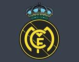 Desenho Emblema do Real Madrid C.F. pintado por TONINH