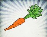 Desenho Cenoura ecológica pintado por JPjoao