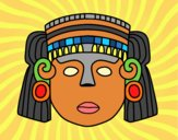 Desenho O máscara mexicana pintado por VanVieira