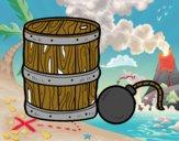 Pólvora e bomba pirata