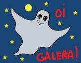 Desenho Fantasma clássico  pintado por ceciliaz