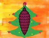Desenho Pingente do Natal pintado por ceciliaz