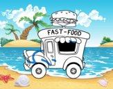 Food truck de hambúrgueres