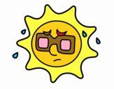 Sol com suor