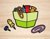 Desenho Porta-clipe pintado por Craudia