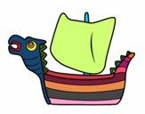 Drakken, barco viking