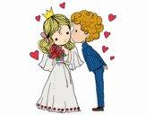 Casamento do príncipe e da princesa