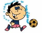 Correndo com a bola