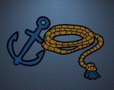 Corda e âncora